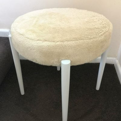 "1950'S EAST GERMAN ""MODEL 55"" DRESSING TABLE STOOL"