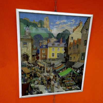 Travel Poster of Ludlow by Jack Meriott