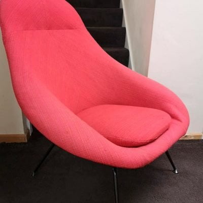 1960/70's LURASHELL SPIDER LEG ACCENT CHAIR