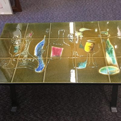 1960s Tiled Top Coffee Table