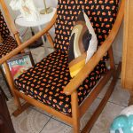 Vintage Danish Design Rocker & Chair Set