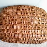 Vintage Wicker Gondola Basket