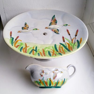 Flying Duck Cake Stand