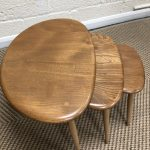 Ercol Blonde Set of Pebbles Tables