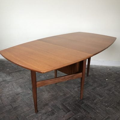 beautiful teak gate-leg dining table