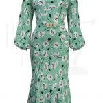 30s Joanie Bias Cut Dress – Crocus