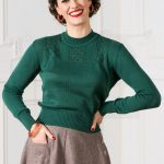 Homebird Knit Sweater – Pine