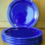 Hornsea Blue Heirloom Dinner Plates