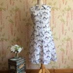 1960s Georgette shift dress