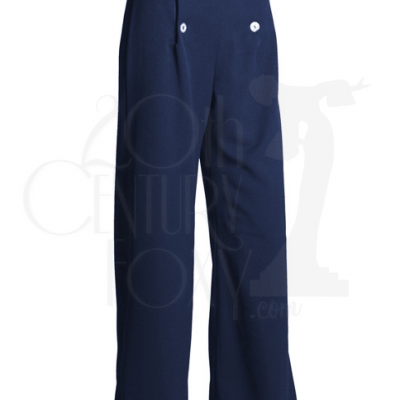 1930s Sailor Pants – Navy