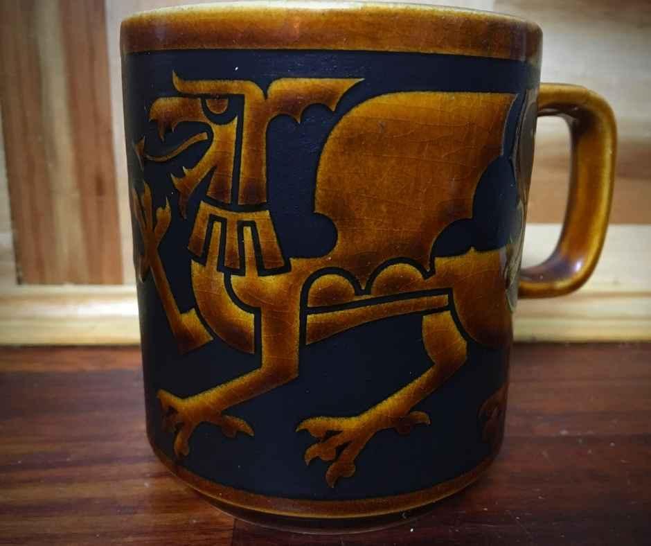 Clappison Hornsea Mug - Dragon