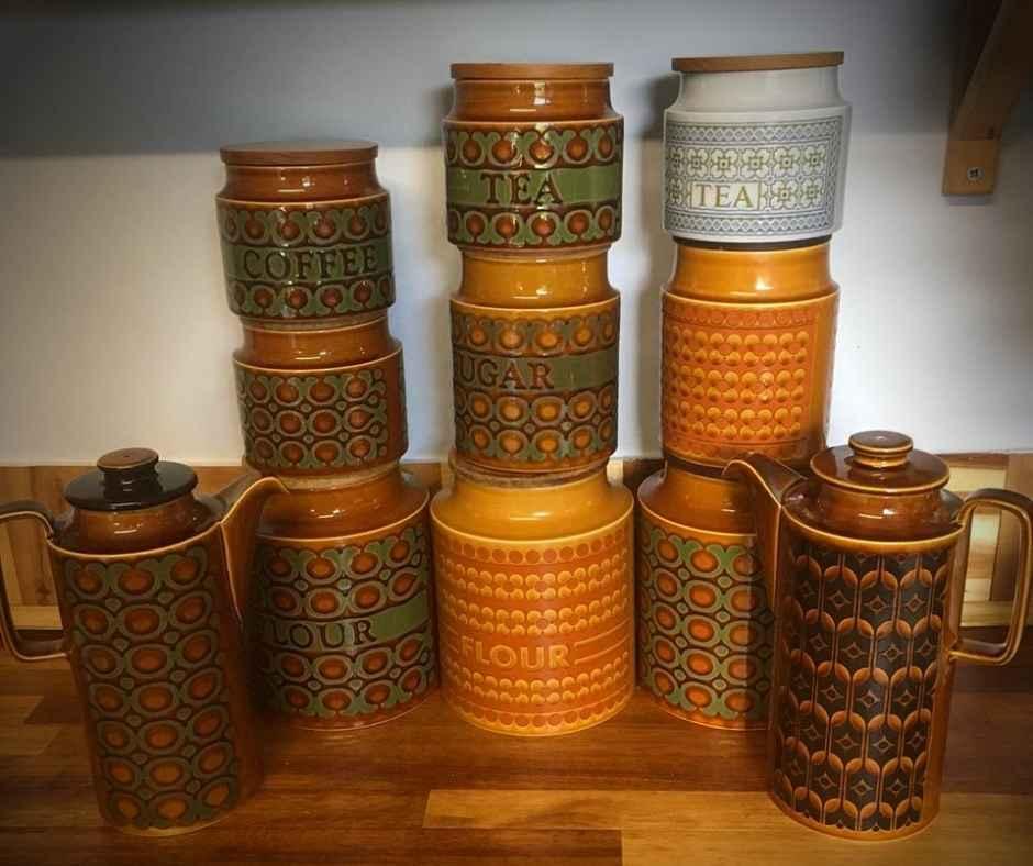 Hornsea Pottery Storage Jars