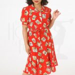 40s Shirt Waister Dress – Postcard