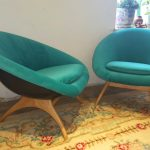 "1960's Lurashell ""Angelina"" Pod Chair (Pair available)"