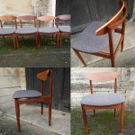 Set of 4 Vintage Kofod Larsen G Plan Dining Chairs