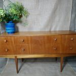 Vintage Dressing Console Hall Table Mcintosh Kirkcaldy