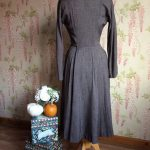LATE 1940s / EARLY 1950s CARTWRIGHT DESIGNED BY MARTHA GALE COATDRESS