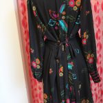 Vintage Button Front Dress