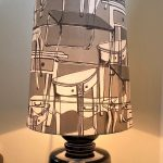 LARGE CERAMIC WEST GERMAN LAMP 1970'S