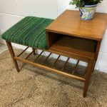 Teak 1960s Telephone Table