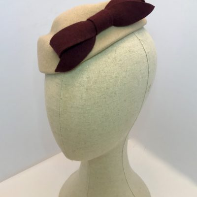 Carol- 1940s/50s pillbox cocktail hat – sale price
