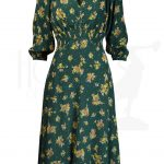 30s Vera Dress – Forget me not