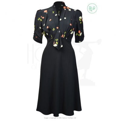 1930s Jitterbug Dress – Midnight Garden