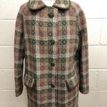 Welsh Wool Tapestry Coat 1960s