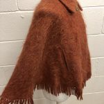 Mohair 1960 Burnt Orange Cape