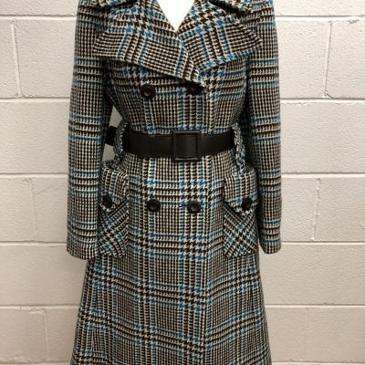 1970s Wool Coat with Belt