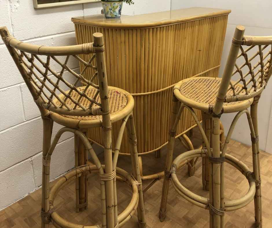 The History of Vintage Bamboo Furniture and its Current Popularity