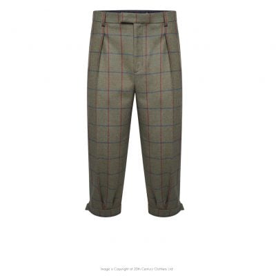 Plus Fours in Green Check