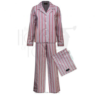 Boyfriend Pyjamas – Red Stripe