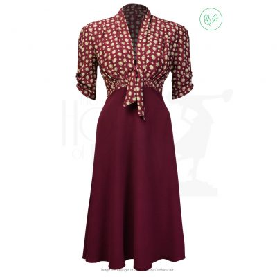 1930s Jitterbug Dress – Deco Dot