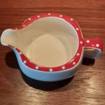 Midwinter Red Domino Milk Jug