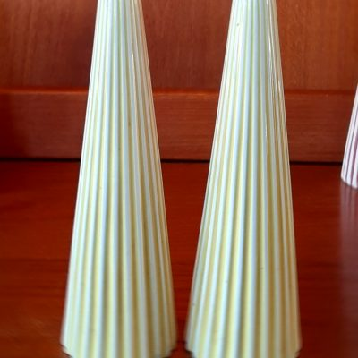 Tall Hornsea Summit Salt and Pepper in Yellow and White