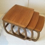 1970's Nathan Teak Nest of Tables