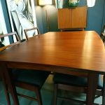 Vintage Richard Hornby Afromosia Dining Table & 4 Chairs