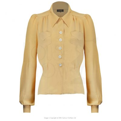 40s Sweetheart Blouse – Sahara