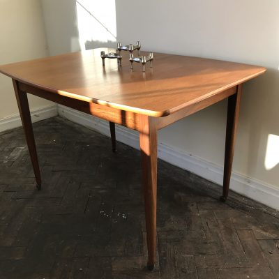 Mid-Century Extending Dining Table