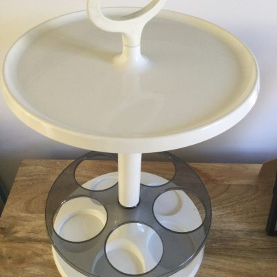 1960s Plastic Bottle Stand / Table