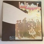 Collectible Maroon Atlantic label Lemon Song Misprint Led Zeppelin II Vinyl Lp