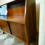 Mid Century G&T Greaves & Thomas Teak Sideboard Display Cocktail Cabinet