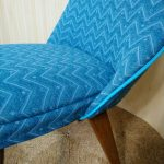 Vintage Ben Chairs Dining Office Chair Turquoise Blue
