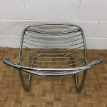 Italian Design Chrome Sabrina Chair by Gastone Rinaldi for RIMA