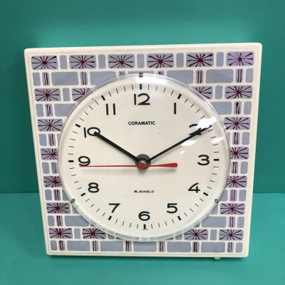 1960s Coramatic Clock