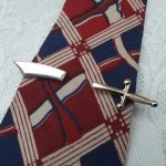 1940s – 1950s Sabre, Sword Tie Clip by Stratton Imitation, Made in England, Mid Century, Vintage Gents