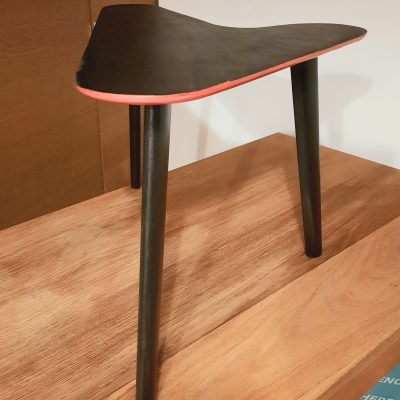 Boomerang Coffee Side Lamp Table