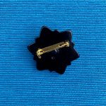 1980s Victorian Revival Mourning Brooch