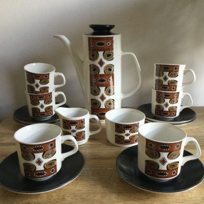 1960s J G Meakin Coffee Set